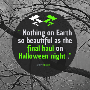 Halloween wishes quotes