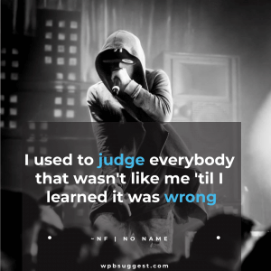 NF Song Quotes | No Name
