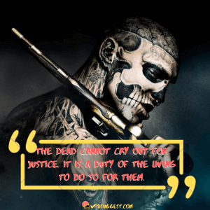 Day of The Dead Famous Sayings