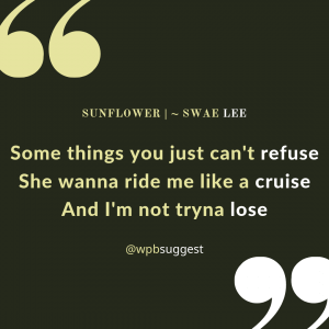 Swae Lee Love Quotes