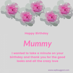 Birthday woshes for Mumma