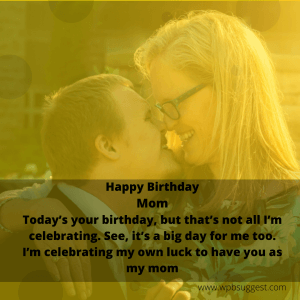 Caring Birthday Wishes for Mom