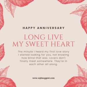 """Happy Anniversary Wishes"""