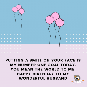 simple birthdday wishes for husband
