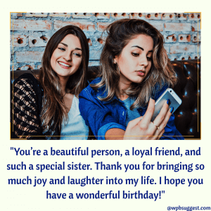 twin sister birthday wishes