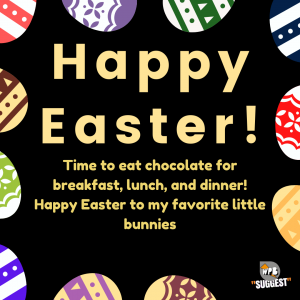 Easter Wishes for family & friends