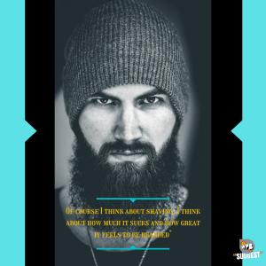 Whatsapp DP Beard Quotes