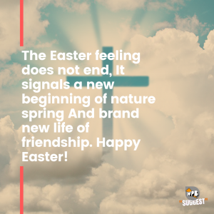 Happy Easter wishes for Instagram