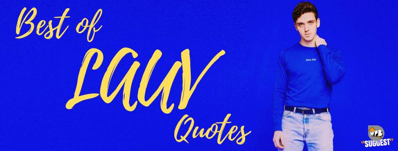 Best Of Lauv Quotes
