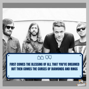 Imagine Dragons Song Quotes