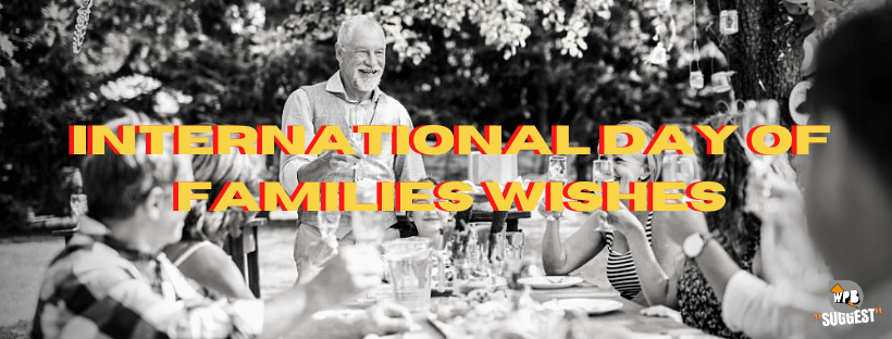 International Day Of Families Wishes