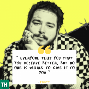 Post Malone Quotes from Songs