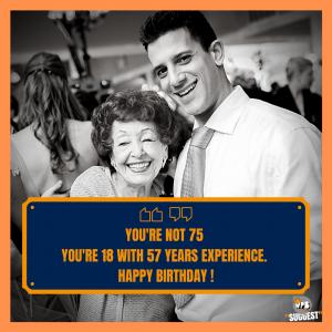 Happy 75th Birthday Wishes