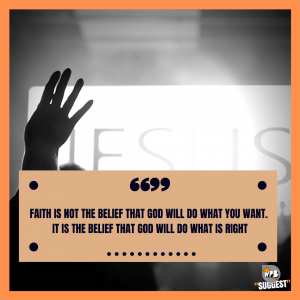 Have Faith In God Quotes to Jesus