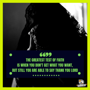 Have Faith In God Quotes for Instagram