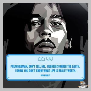 Bob Marley Quotes Image