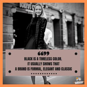 Black Lover Colour Quotes