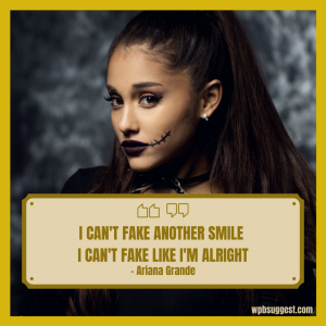 Ariana Grande Quotes Sweetener Image