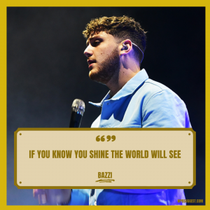 Bazzi Quotes For Instagram Image