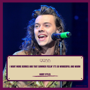 Harry Styles Quotes Captions