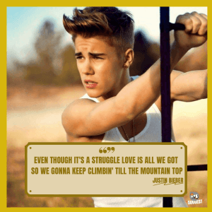 More Justin Bieber Quotes