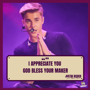 The Justin Bieber Quotes