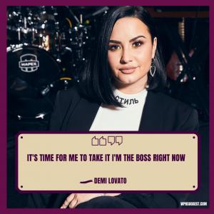 More Demi Lovato Quotes