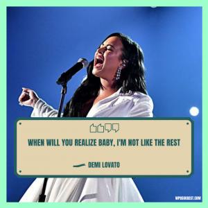 More Demi Lovato Quotes Image