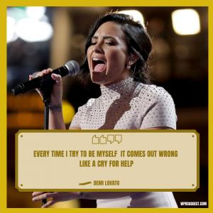 Demi Lovato Quotes For Instagram Image