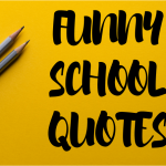 Cover Funny School Quotes