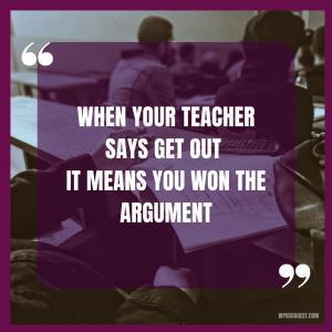 Fun School Quotes
