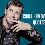 Chris Hemsworth Quotes Cover
