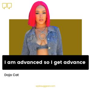 Attitude Doja Cat Quotes