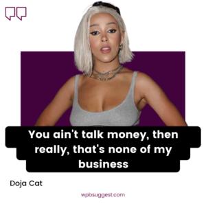 Doja Cat Quotes For Instagram