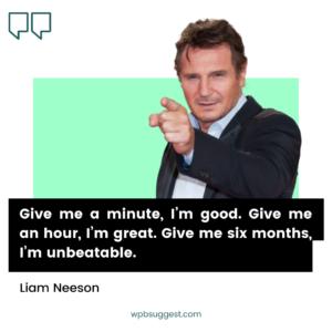Liam Neeson Captions