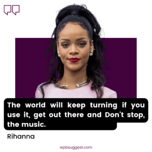 Rihanna Fashion Quotes