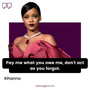 Best Rihanna Lyrics For Captions