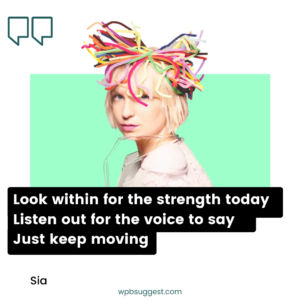 Sia Musician Quotes