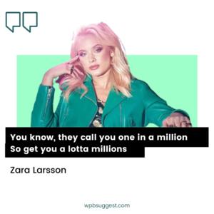 Image of Zara Larsson