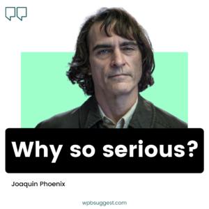Joaquin Phoenix Serious Image