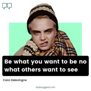 Cara Delevingne Quotes Images