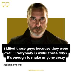 Joaquin Phoenix Quotes Oscar