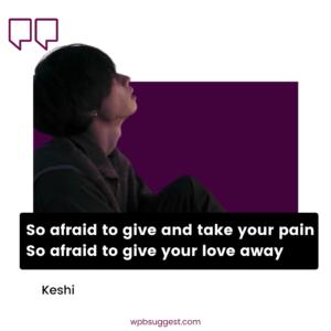 Keshi Quotes Wallpaper