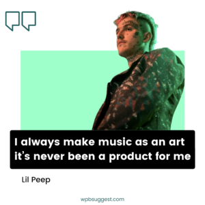 Lil Peep Quotes Image For Facebook