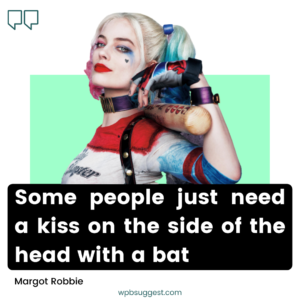 Margot Robbie Joker Captions