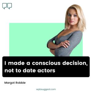 Sexy Margot Robbie Quotes