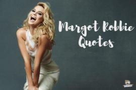 Margot Robbie Quotes Cover