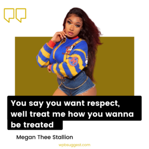 Megan Thee Stallion Words