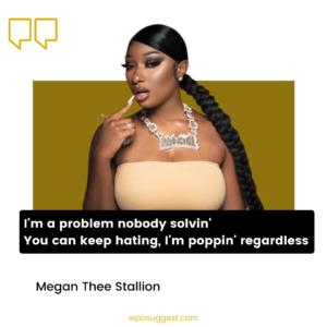 Megan Thee Stallion Lyrics