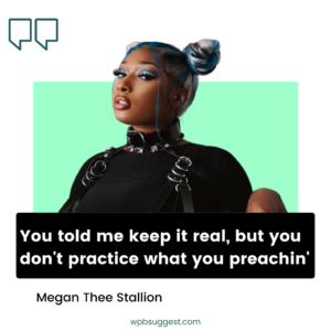 Instagram Megan Thee Stallion Quotes For Captions